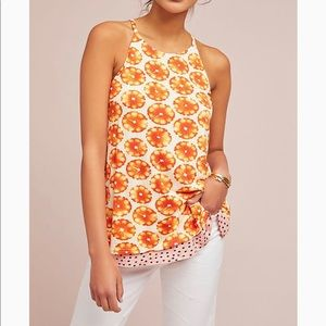 Anthropologie Porridge Springtime Printed Cami